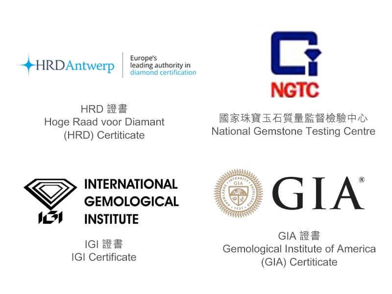 Diamond Certification - HRD NGTC IGI GIA